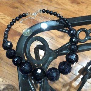Beautiful black necklace
